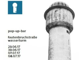 Pop-Up Bar am Alten Wasserturm in Karlsruhe